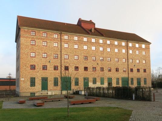 Havremagasinet fasad nya fonster