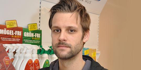 Claes af Klinteberg, Produktions- och inköpschef på Jape Produkter AB