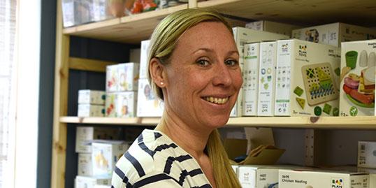 Maria Bloom Jivenius, ägare Little Bloom