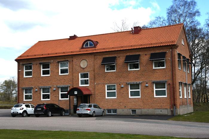 Kontorsbyggnad på Väpnaregatan 17 i Hässleholm