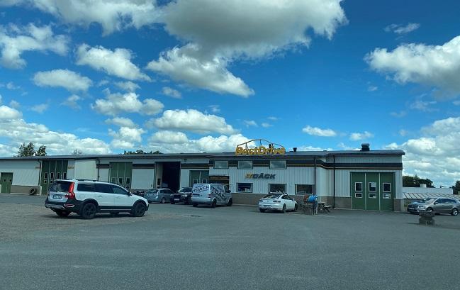 Verkstadslokal på Helsingborgsvägen 12
